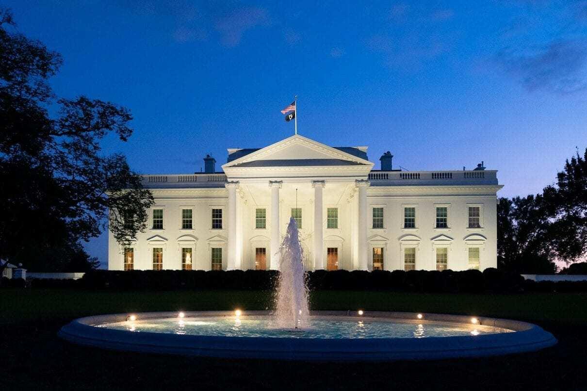 POW/MIA Flag Flies Atop the White House
